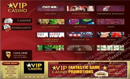 VIP Casino Lobby