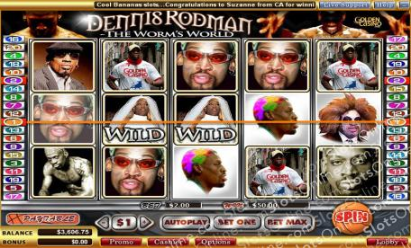 Dennis Rodman: The Worm's World