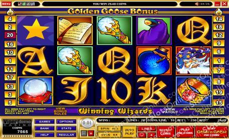 Golden Goose - Winning Wizards