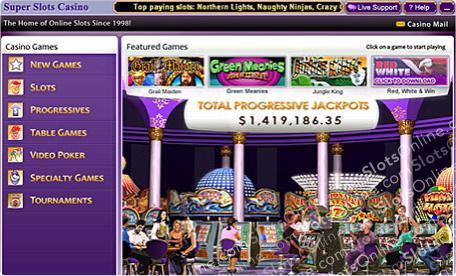 Super Slots Lobby