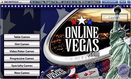 Online Vegas Lobby
