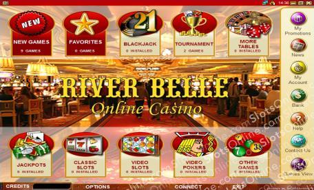 Riverbelle Casino Online