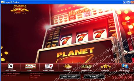 Planet 7 Lobby
