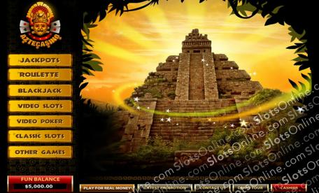 Aztec Casino Lobby