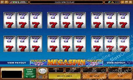 MegaSpin - Fantastic 7s