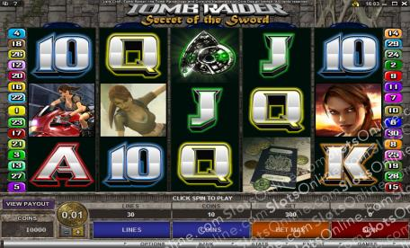Tomb Raider-Secret Of The Sword