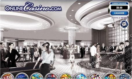 Online Casino Central Lobby