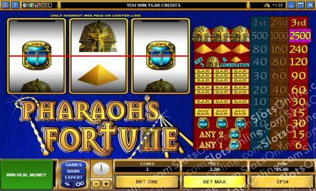 Pharaos Fortune