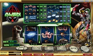 Alien Invasion Slot
