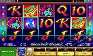 Slot Machines - Las Vegas Slots - I Dream of Genie