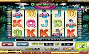 Green Meanies Slot